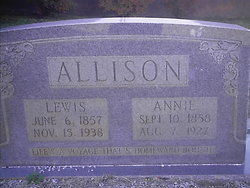 Annie <i>Beech</i> Allison