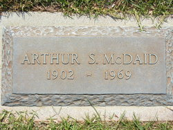 Arthur S McDaid