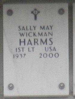 Sally May <i>Wickman</i> Harms