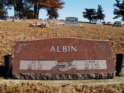 Clara Jane <i>Lanning</i> Albin