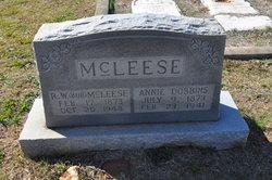 Annie <i>Dobbins</i> McLeese