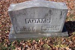 Mary Frances <i>Calvert</i> Adams