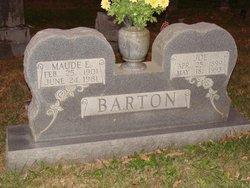 Maude Etter <i>Ward</i> Barton