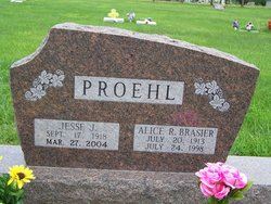 Alice Ruby <i>Brasier</i> Proehl