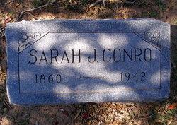 Sarah Jane Sally <i>Mayfield</i> Conro
