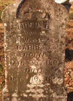 Liddie B Barrett