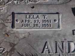 Lela Hortense <i>Terry</i> Anderson