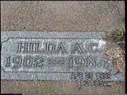 Hilda Anna Christina <i>Tammen</i> Petersen George