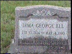 Irma <i>George</i> Ell