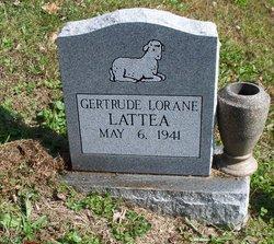 Gertrude Loraine Lattea