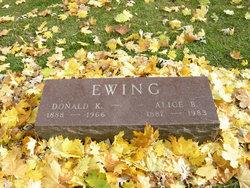 Donald Knox Ewing