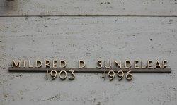 Mildred Beatrice <i>Deaver</i> Sundeleaf