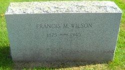Francis M Wilson