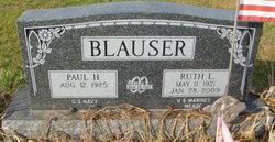 Ruth L <i>Meade</i> Blauser