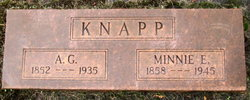 Mrs Minnie E Knapp
