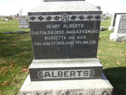 Marietta <i>Haslet</i> Alberts