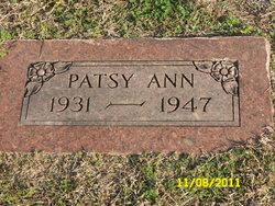 Patsy Ann Unknown