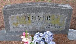 Edward W Edd Driver, Sr
