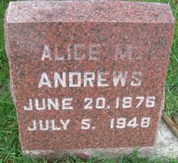 Alice M <i>Trigger</i> Andrews