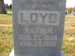 Mary M. <i>Adair</i> Loyd