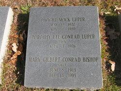 Mary Gilbert Gilly <i>Conrad</i> Bishop