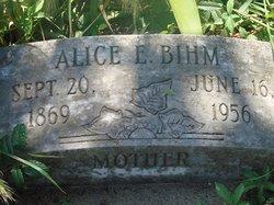 Alice <i>Emmons</i> Bihm