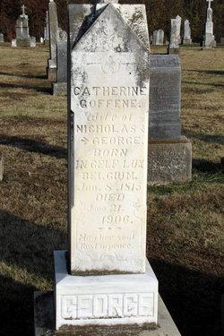 Catherine <i>Goffene</i> George