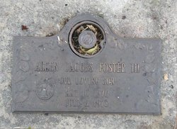 Alan Jacobs Foster, III