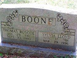 Sylvia <i>Lloyd</i> Boone