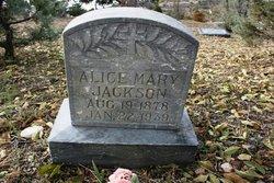 Alice Mary <i>King</i> Jackson