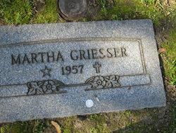Martha <i>Hass</i> Griesser