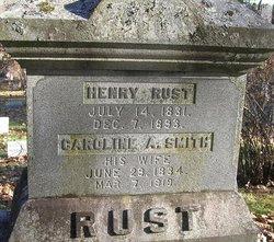 Caroline A. <i>Smith</i> Rust