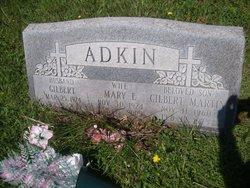 Mary E. <i>Hunt</i> Adkin
