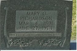 Mary O. <i>Wilson</i> Stephens