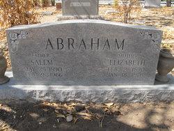 Elizabeth <i>Daywood</i> Abraham
