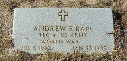 Andrew E Bair