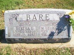Bertha Lorene <i>Schrader</i> Bare