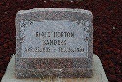 Roxie <i>Horton</i> Sanders