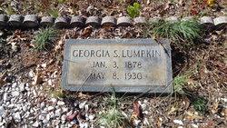 Georgia <i>Stone</i> Lumpkin