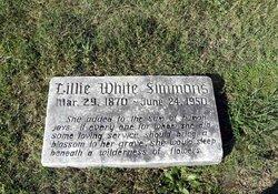 Lillie White Simmons