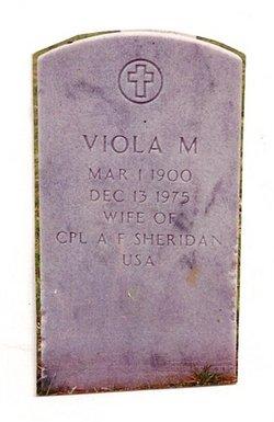 Viola Marie <i>Hardesty</i> Sheridan