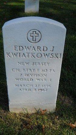 Corp Edward Joseph Kwiatkowski
