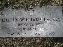 Lillian Mae <i>Williams</i> Lackey