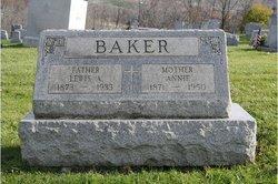 Annie M. <i>McNelis</i> Baker