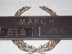 Mary Ruth <i>Stutts</i> March