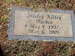 Shirley <i>Kelley</i> Barbee