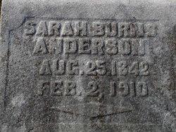 Sarah <i>Burns</i> Anderson