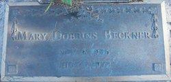 Mary Louise <i>Dobbins</i> Beckner