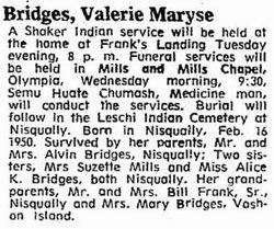 Valerie Maryse Bridges