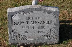 Mary Thomas <i>Bishop</i> Alexander